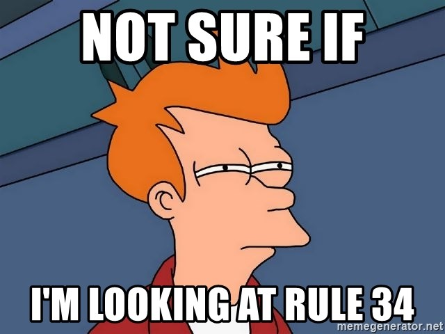 Futurama Fry - Not sure if I'm looking at Rule 34