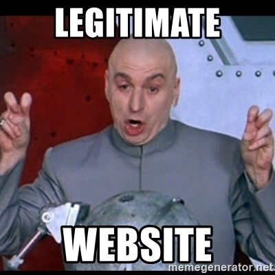 dr. evil quote - Legitimate Website