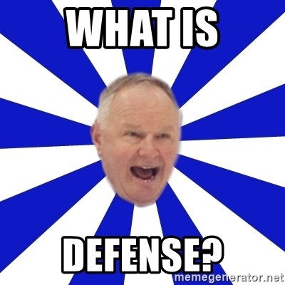 Crafty Randy - what is defense?