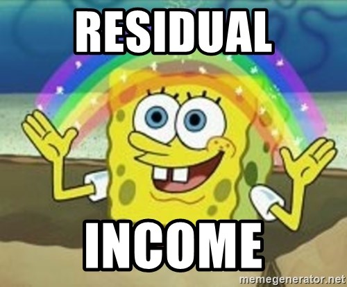 Spongebob - Residual Income