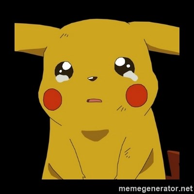 Pikachu crying -