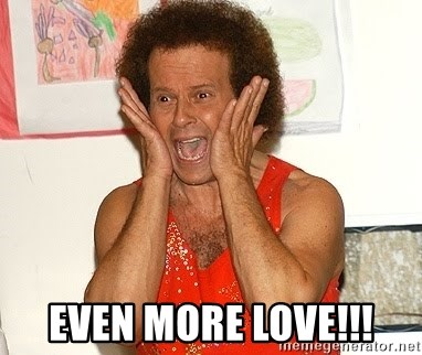 Richard Simmons Screaming - EVEN MORE LOVE!!!