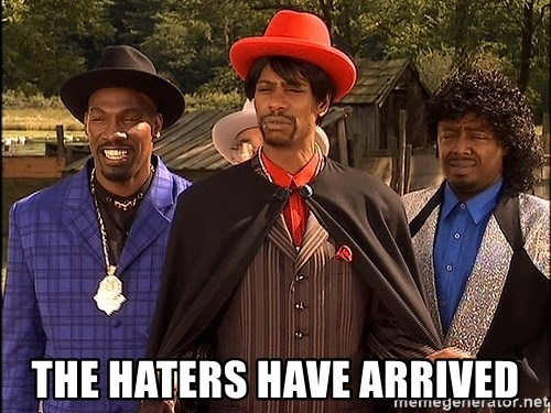 Dave Chappelle Player Haters - the haters have arrived