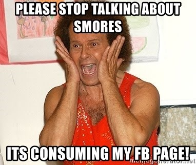 Richard Simmons Screaming - Please stop talking about smores its consuming my fb page!