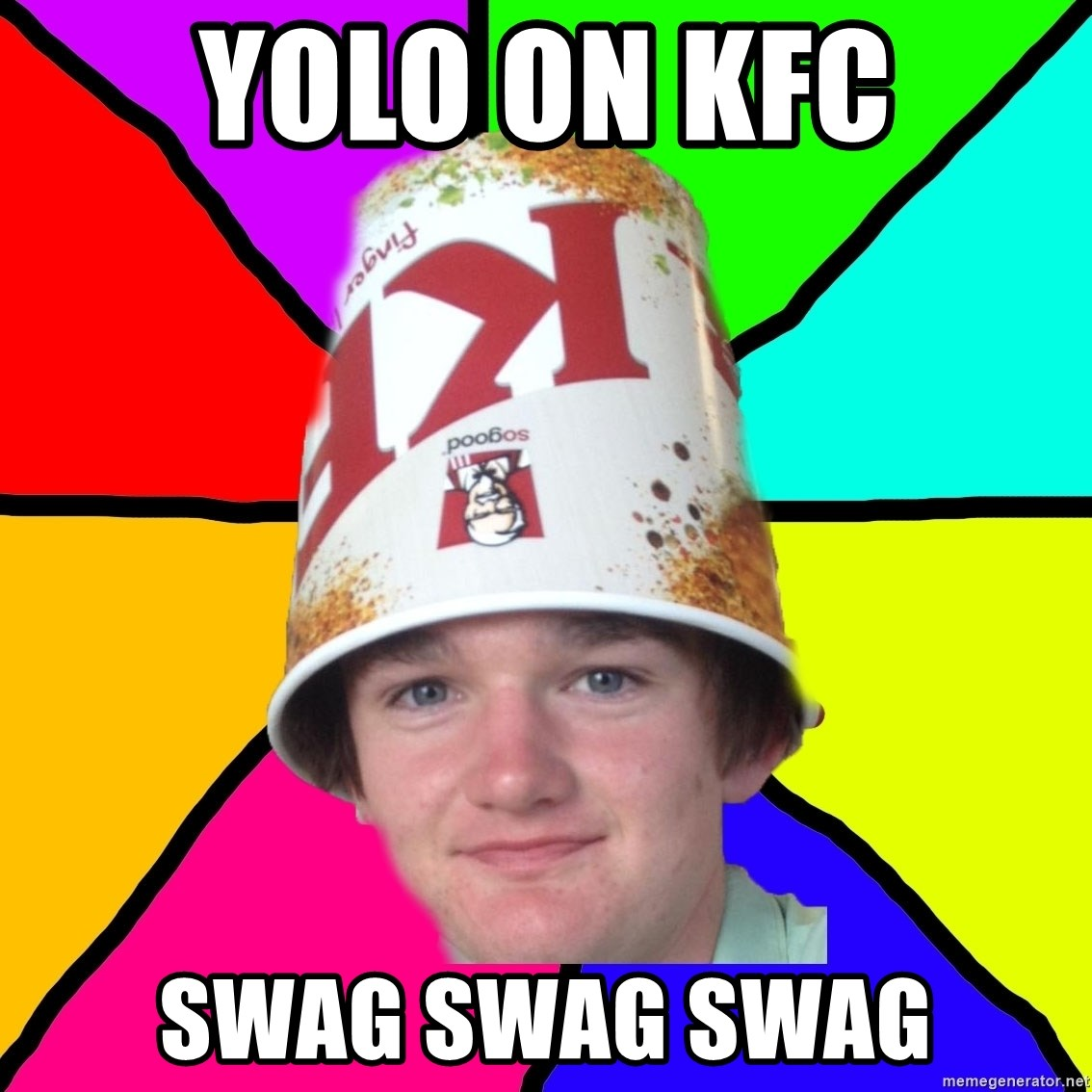 Bad Braydon - yolo on kfc swag swag swag