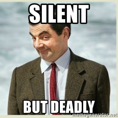 MR bean - Silent but deadly
