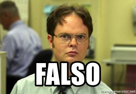 Dwight Meme -  FALSO