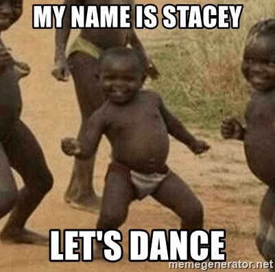 Success African Kid - My name is Stacey Let's Dance