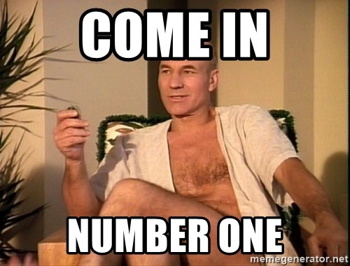 Sexual Picard - come in Number one