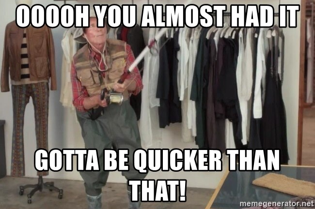 State Farm Fisherman - Ooooh you almost had it Gotta be quicker than that!