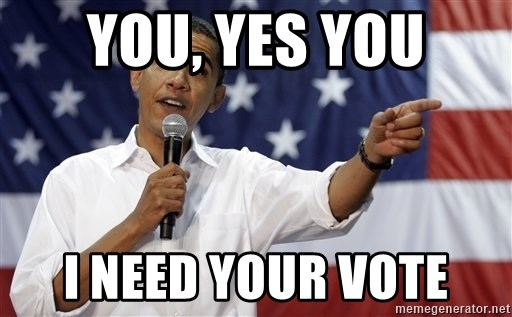 Obama You Mad - you, yes you i need your vote