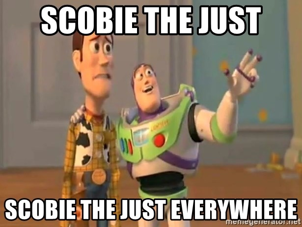 X, X Everywhere  - Scobie the just scobie the just everywhere