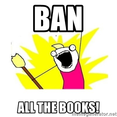 clean all the things blank template - ban all the books!