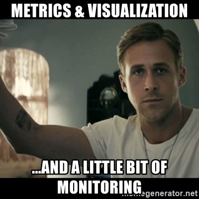 ryan gosling hey girl - Metrics & visualization ...and a little bit of monitoring