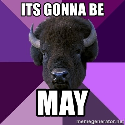 Fuck Yeah Band Buffalo - Its gonna be May