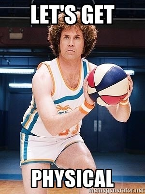 Will Ferrell Basketball - LET'S GET PHYSICAL