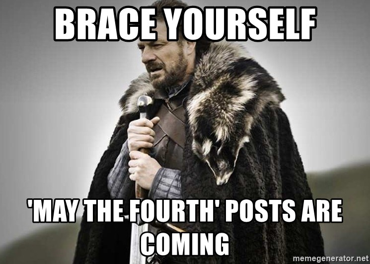 brace yourselves the purple is coming - brace yourself 'may the fourth' posts are coming