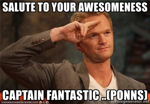 49397359 salute to your awesomeness captain fantastic (ponns) barney,Barney Meme Generator