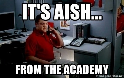 Jake From State Farm - It's Aish... From the academy
