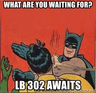 batman slap robin - what are you waiting for? lb 302 awaits