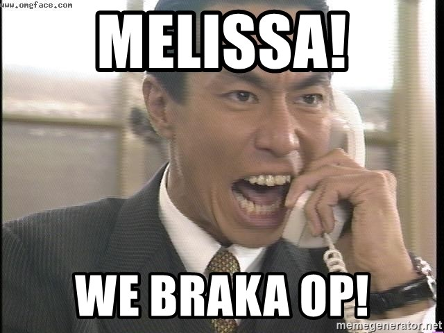 Chinese Factory Foreman - Melissa! We Braka Op!
