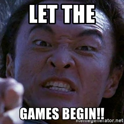 Shang Tsung - Let the GAMES begin!!