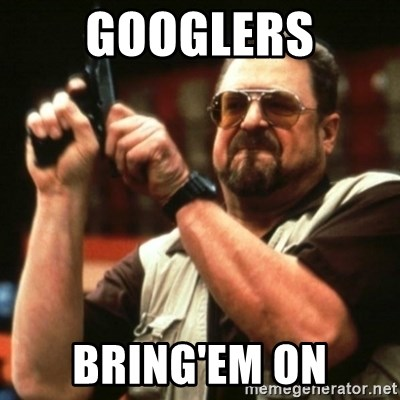 john goodman - Googlers Bring'Em on
