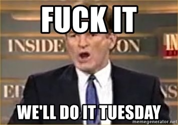 Bill O Reilly - fuck it We'll DO IT tuesday