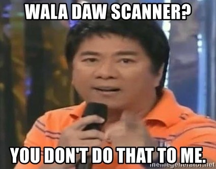 willie revillame you dont do that to me - wala daw scanner? you don't do that to me.
