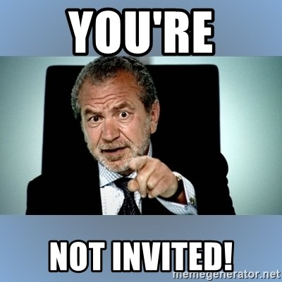 you re invited meme