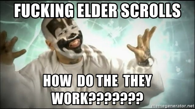Insane Clown Posse - fucking elder scrolls how  do the  they  work???????