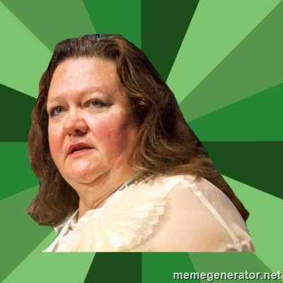 Dumb Whore Gina Rinehart -