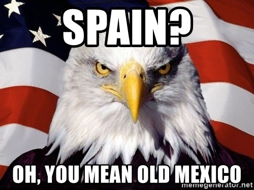American Pride Eagle - Spain? oh, you mean old mexico