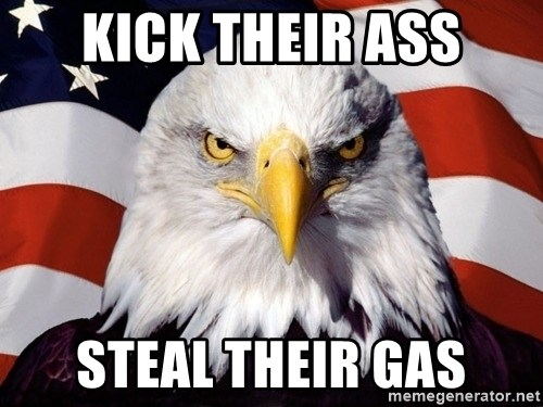 American Pride Eagle - KICK THEIR ASS STEAL THEIR GAS