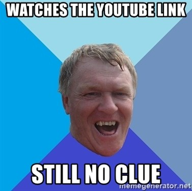 YAAZZ - Watches the youtube link still no clue