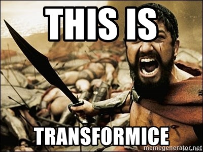 This Is Sparta Meme - this is  transformice