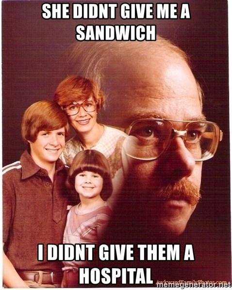 Family Man - She didnt give me a sandwich i didnt give them a hospital