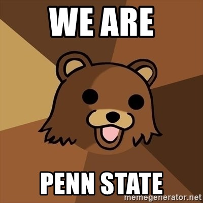 Pedobear - WE ARE PENN STATE