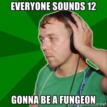 Sarcastic Soundman - Everyone Sounds 12 gonna be a fungeon