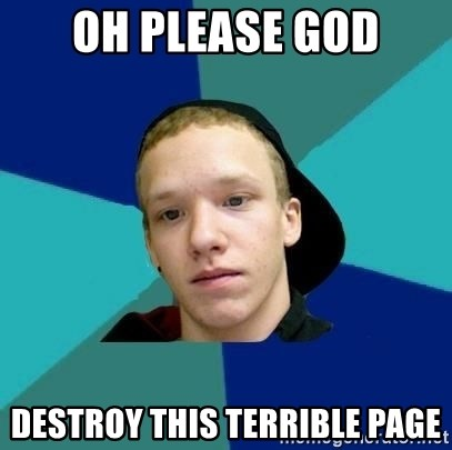 Tracy - oh please god destroy this terrible page