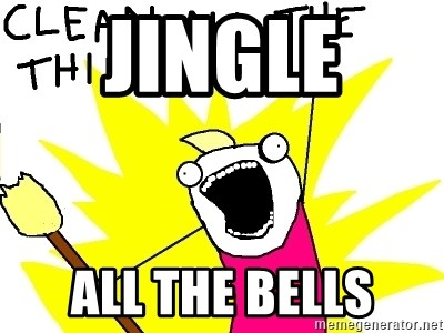 clean all the things - Jingle  ALL THE BELLS