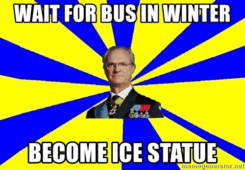 swedishproblems.tumblr.com - wait for bus in winter become ice statue