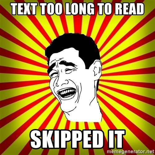 Yao Ming trollface - TEXT TOO LONG TO READ SKIPPED IT
