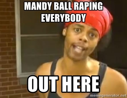 Antoine Dodson - Mandy Ball Raping Everybody Out Here