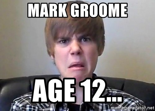 Justin Bieber 213 - Mark groome Age 12...