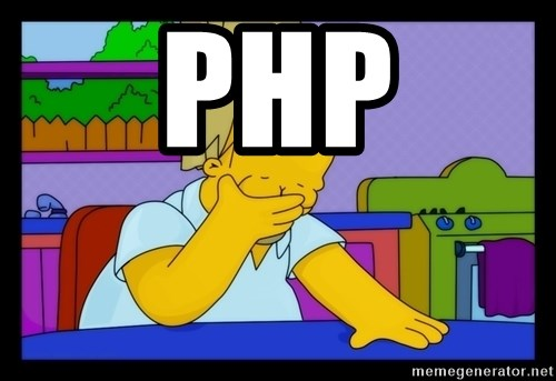Homer Facepalm - PHP