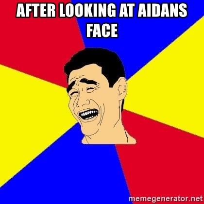 journalist - After Looking at aidans face