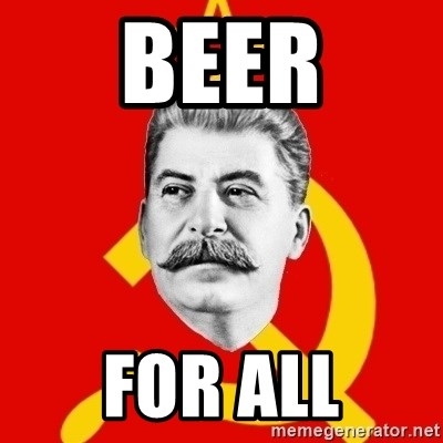 Stalin Says - beer for all