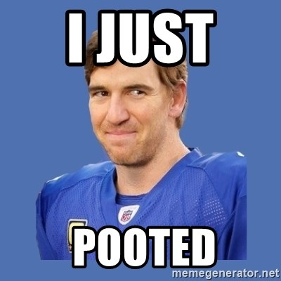 Eli troll manning - i just   pooted