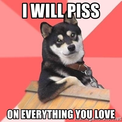 Cool Dog - i will piss on everything you love